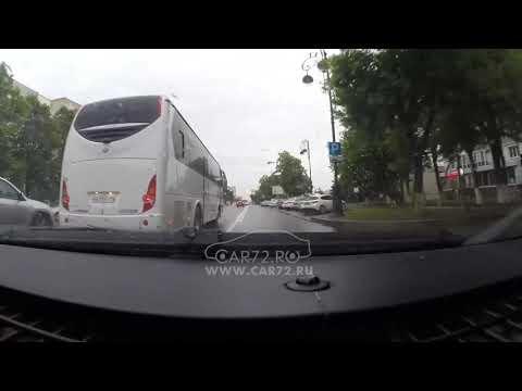 видео: Автор движется по автобусной полосе и... почти ДТП.