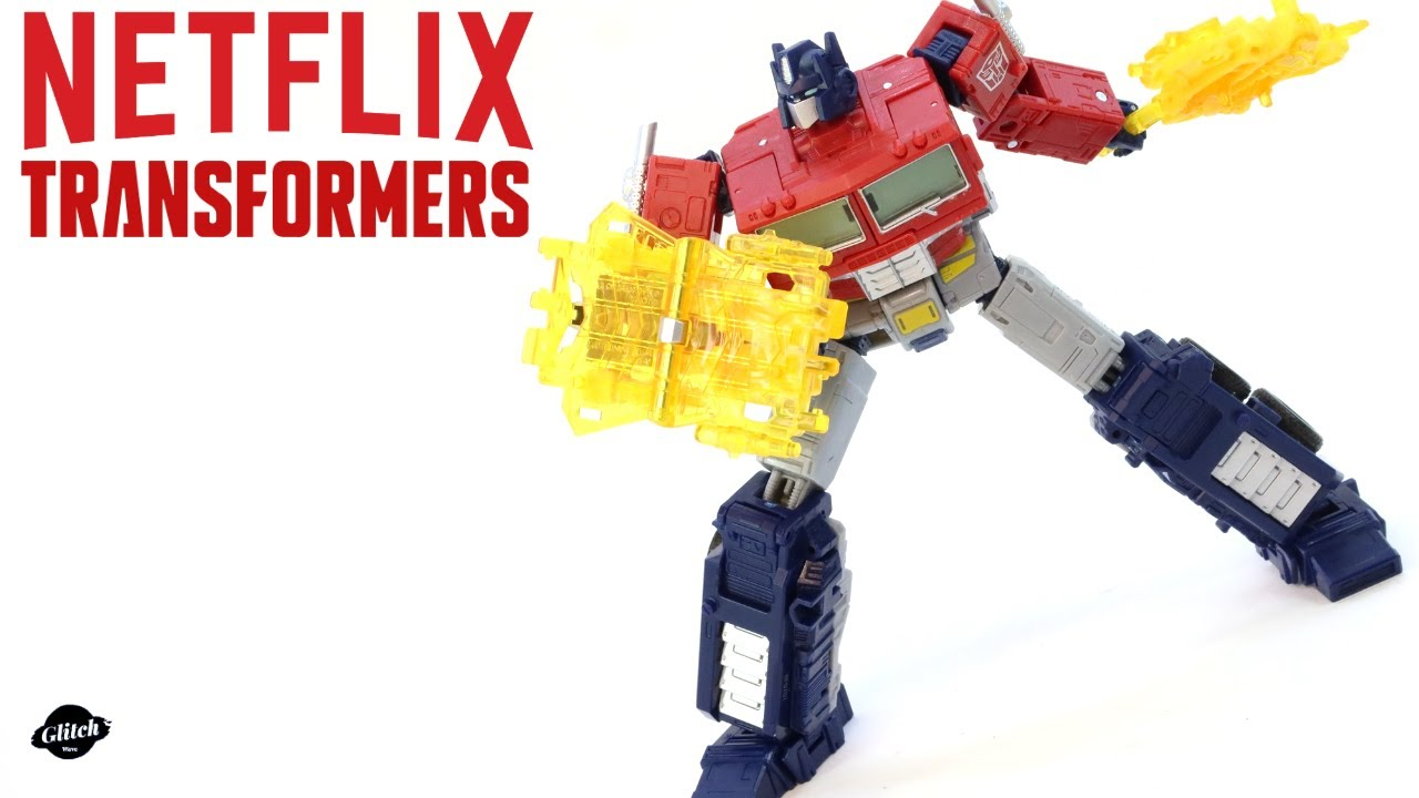 Download Transformers War for Cybertron Netflix Optimus Prime Review