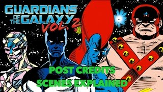 Guardians of the Galaxy Vol.  2 Post Credits Scenes Explained