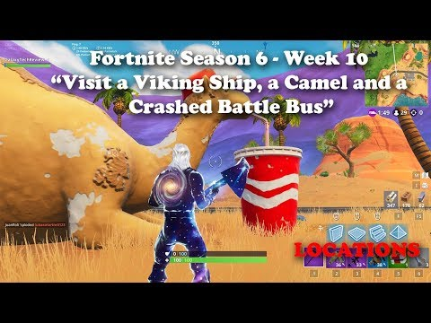 Fortnite - Season 6 - Week 10