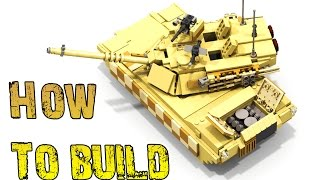 How To Build - M1 ABRAMS Tank