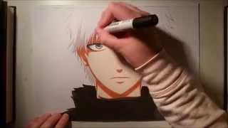 Ken Kaneki ~Speed Drawing~ [Tokyo Ghoul]