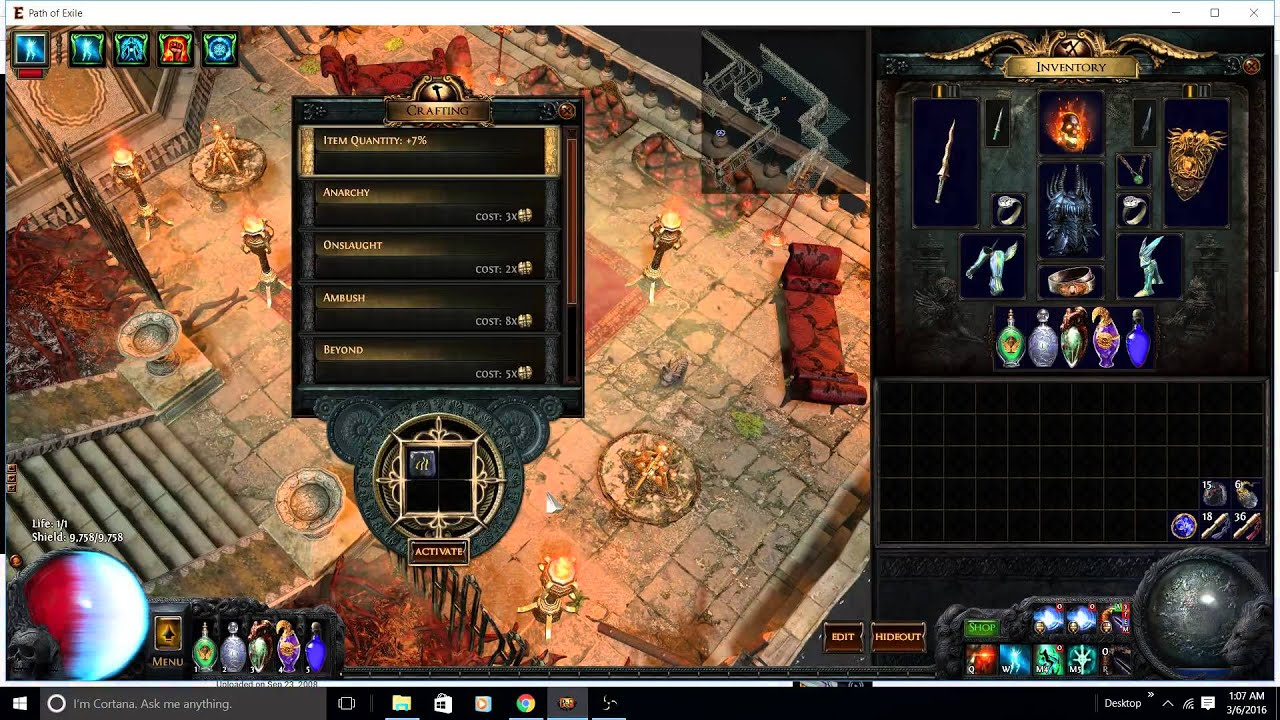 2 2 trickster ci crit reave no loot 3 minute gorge run youtube