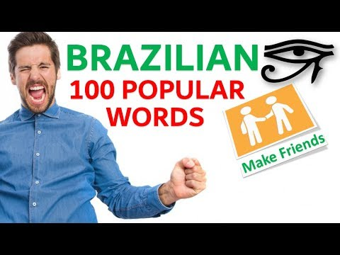 Brazilian Portuguese 100 important sentences - Popular Phras