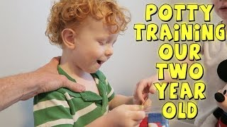 POTTY TRAINING OUR TWO YEAR OLD (FOR REALSIES)