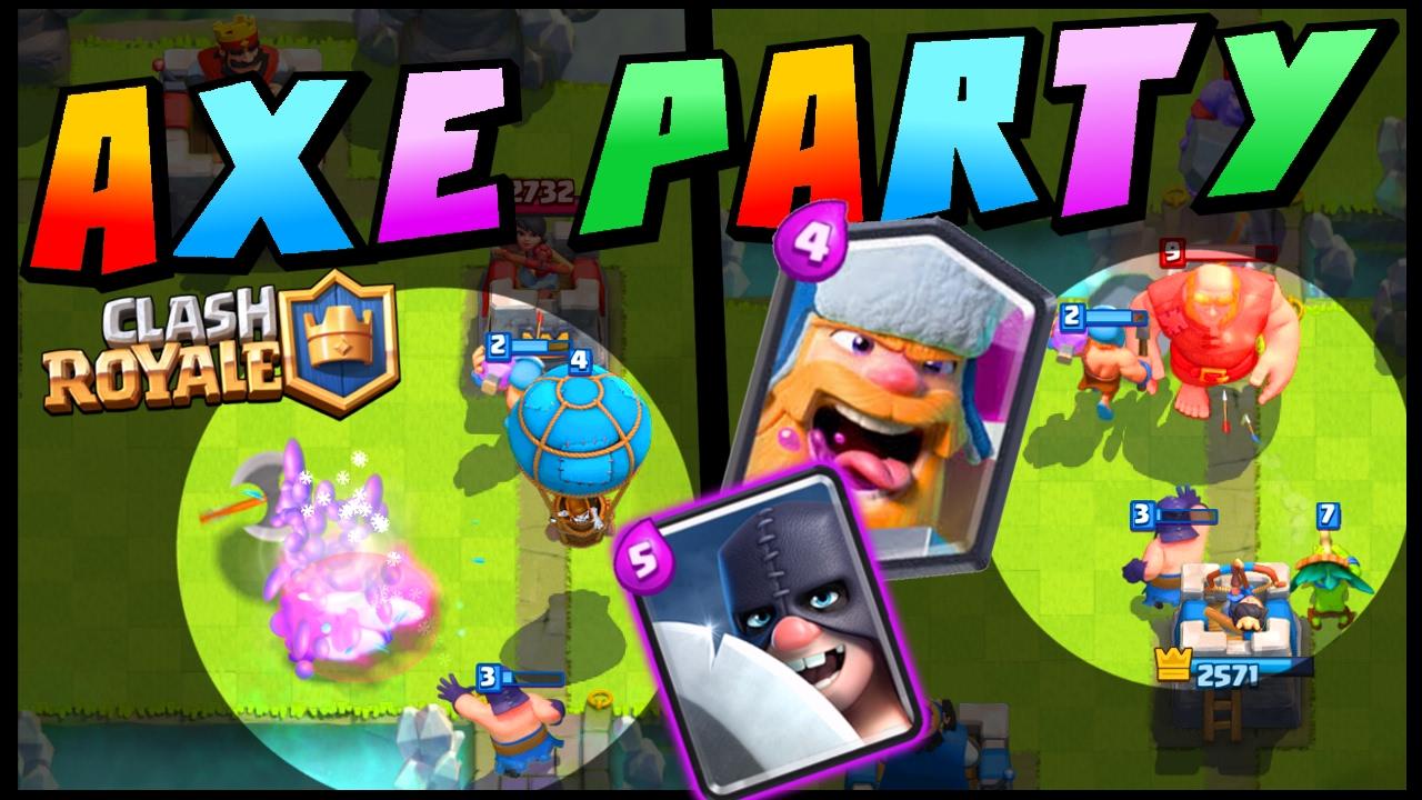 Lumberhog Clash Royale Good Lumberjack Deck Arena 9 Strategy You