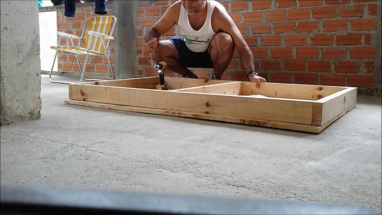 Mesa Rstica com madeira de Pnus  YouTube