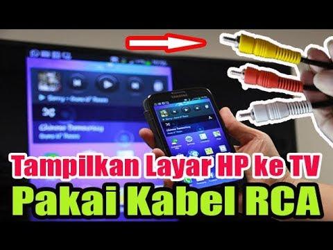 Kabel Speaker Ke Tv Led : cara menghubungkan hp ke tv pakai kabel rca youtube ~ Vivirlamusica.com Haus und Dekorationen