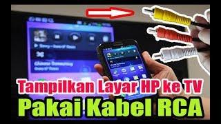 Download Video Cara Menghubungkan HP ke TV Pakai Kabel RCA MP3 3GP MP4