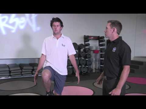 Les Mills Golf Fitness Screening Test – Balance