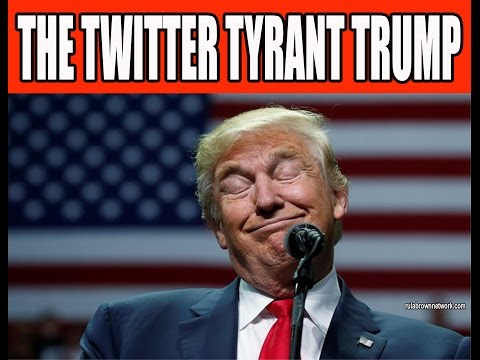 THE TWITTER TYRANT TRUMP - Suggests Over 2 Million Bogus Vote To Hillary, Go To Jail Burn Flag