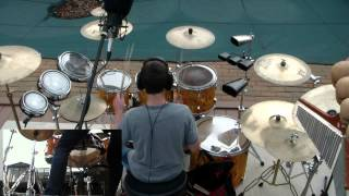 "Rush ""2112"" Drum Cover By 13 Year Old"