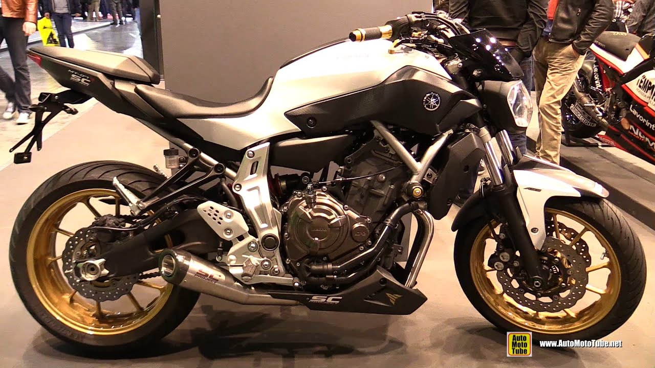 2016 yamaha mt07 sc project customized walkaround 2015 eicma milan youtube. Black Bedroom Furniture Sets. Home Design Ideas