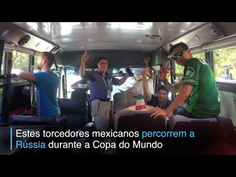 afpbr: Uma odisséia mexicana na Rússia