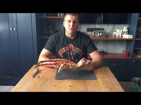 Камчатский краб! Как выбрать, приготовить и съесть?