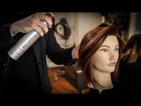 The Easiest Long Bob Ever Haircut Tutorial