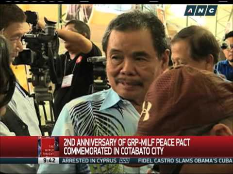 2nd anniversary of GRP-MILF peace pact commemorated