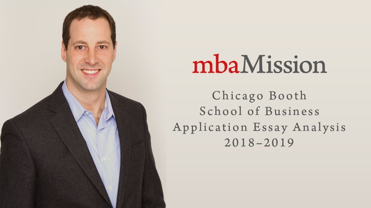 chicago booth essays analysis
