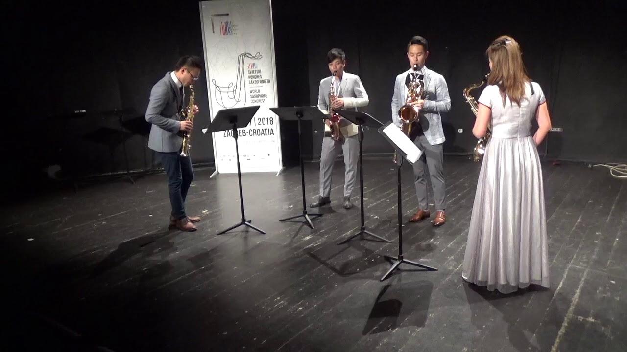 Tapas Nº3 by Marc Mellits - Hong Kong Saxophone Ensemble Quartet   #adolphesax