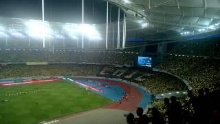 Final Oppo Piala Malaysia 2014.Battle Chant Boy Of Straits B.O.S VS Elephant Army E.A..terbaikkkkk