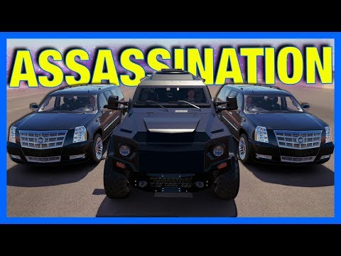 Forza Horizon 3 Online : ASSASSINATION MISSION!!