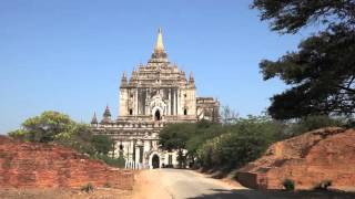 Ancient Temples of Myanmar in Ultra HD - Music: Desert Rain by Herrin