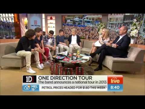 One Direction Live On Australian TV | Sunrise