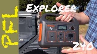 Jackery Explorer 240 Portable Power Station and Solar Panel