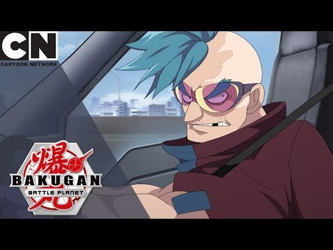 Bakugan: Battle Planet | Strata The Hunter Captures Hydorous | Cartoon Network UK