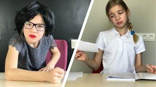 Я ДЕЛАЮ УРОКИ ожидание и реальность МАМА проверяет домашнее задание