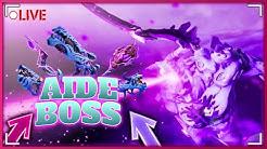 {Live} - Fortnite - {Aide} Boss mythique sur sauver le monde #AvecMoi !! [Survivor]-[Respect] !!