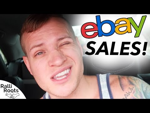 $5,000 in eBay Sales in 2 days! What's Selling?