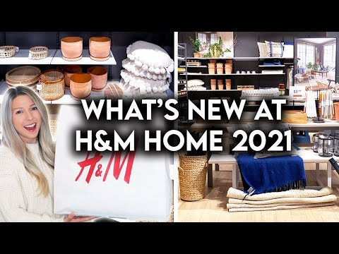 H&M HOME SHOP WITH ME 2021 | NEW AFFORDABLE HOME DECOR