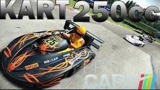 Premiers coups de Volant sur Project Cars. Gameplay Kart 125 shifter.