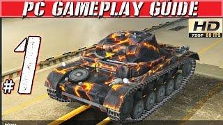 World of Tanks Blitz Gameplay: Pt 1 - Tank vs Tank Fun! - Walkthrough Playthrough 60fps
