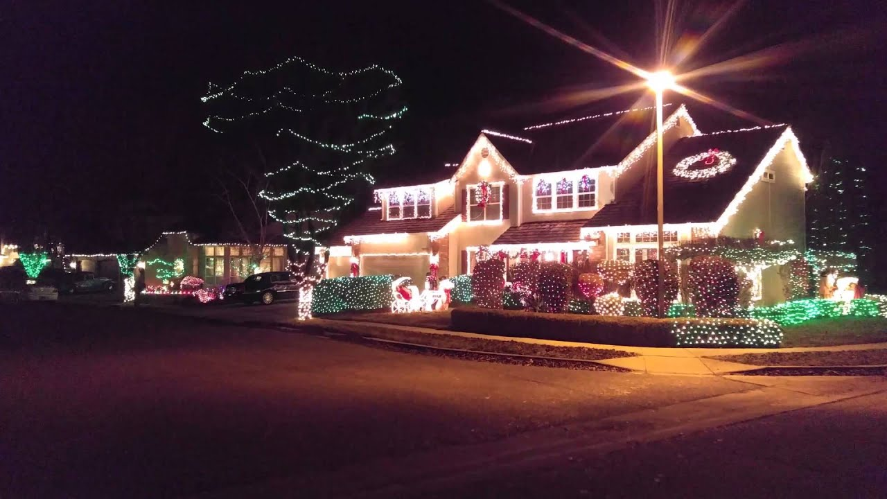 Christmas Lights Boise.Bayhill Springs Holiday Christmas Light Display Winter 2015 Boise Id