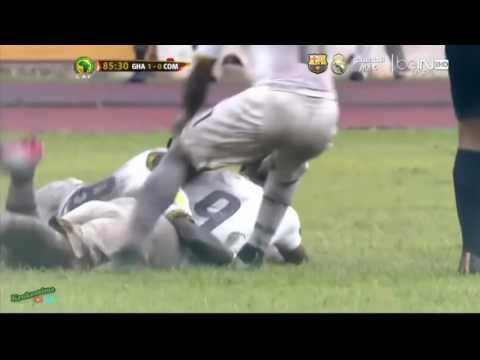 GHANA 2 -0 COMOROS : 2018 FIFA World Cup Qualifiers   All Goals
