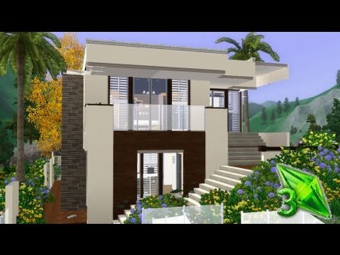 The Sims 3 House Designs - Modern Oasis - Aspire Outlook - YouTube