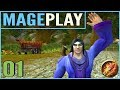 WoW: Mageplay #1 - New Mage Let's Play - Northshire Valley & Stormwind City - Elwynn Forest Part 1