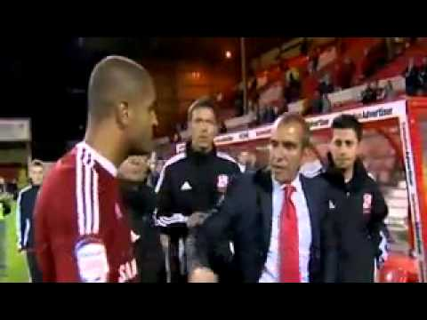 Paolo Di Canio Has A Fight With Own Player!