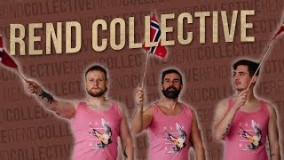 Rend Collective - HOT PINK MALE ROMPERS