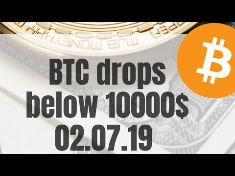 Bitcoin drops below 10000$ | new buying opportunity?