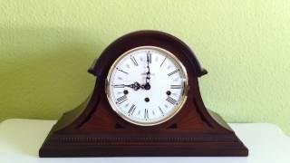Howard Miller Tambour Mantel Clock Downing Whittington