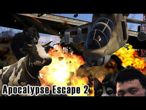 GTA V Mods: Apocalypse Escape 2 - Grandma Rescue!