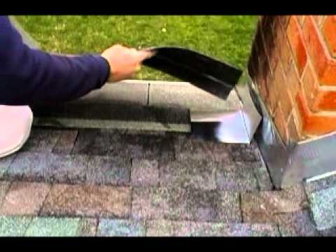 How To Step Flash Step Flashing Around A Chimney