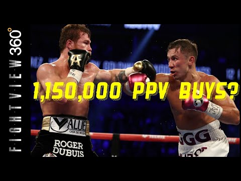 CANELO GGG 2 1,150,000 PPV BUYS? FLOP? NO TRILOGY? GOLDEN BOY WILL NOT RELEASE OFFICIAL NUMBERS!