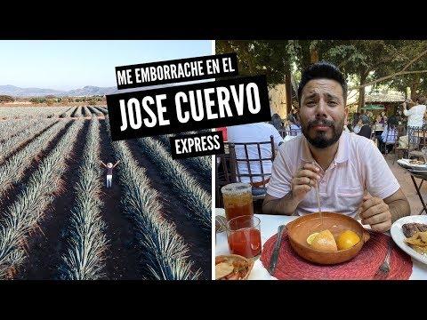 Asi es el Tren Jose Cuervo Express a TEQUILA 🚃🛤