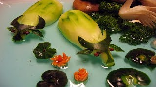How To Make Fruit And Vegetable Animals