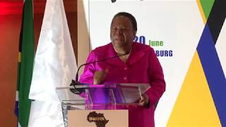 Keynote Speech: Dr. Naledi Pandor, Minister of International Relations and Cooperation, South Africa