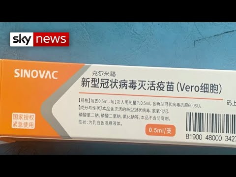 Sky News: Coronavirus: Unproven COVID-19 vaccine made available in China